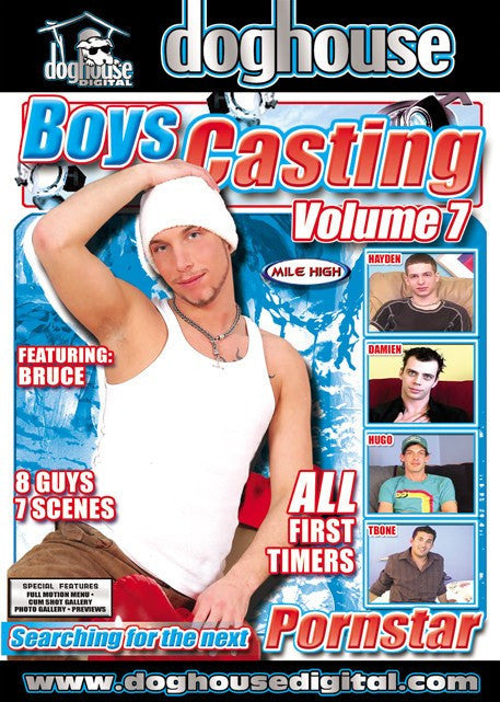 Boys Casting Couch #7 (gay) Dog House DVD