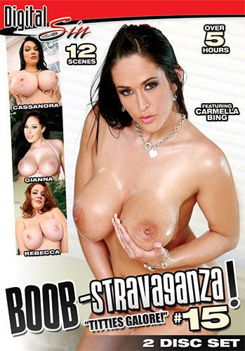 Boob-Stravaganza #15 - Over 5 hours Digital Sin - 2 DVDs