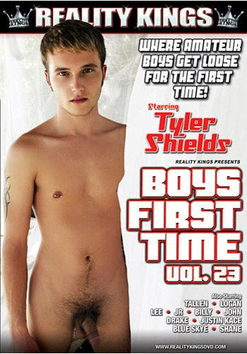 Boys First Time #23 - Reality Kings Gay Sealed DVD