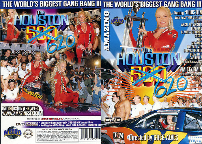 The Houston 500/620 - Biggest Gangbang Metro Sealed DVD