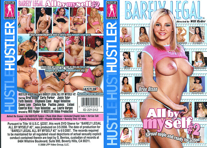 Barely Legal All By Myself #2 - Hustler Sealed DVD