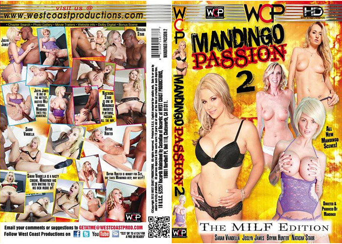 Mandingo Passion #2 - WCP Sealed DVD