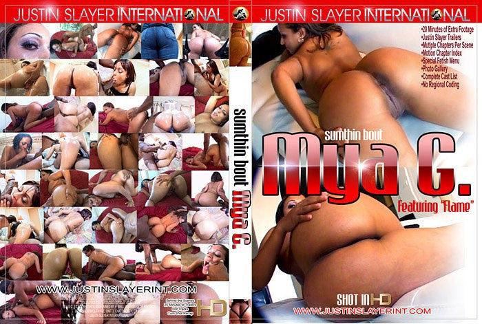 Sumthin Bout Mya G - Justin Slayer Adult XXX Sealed DVD
