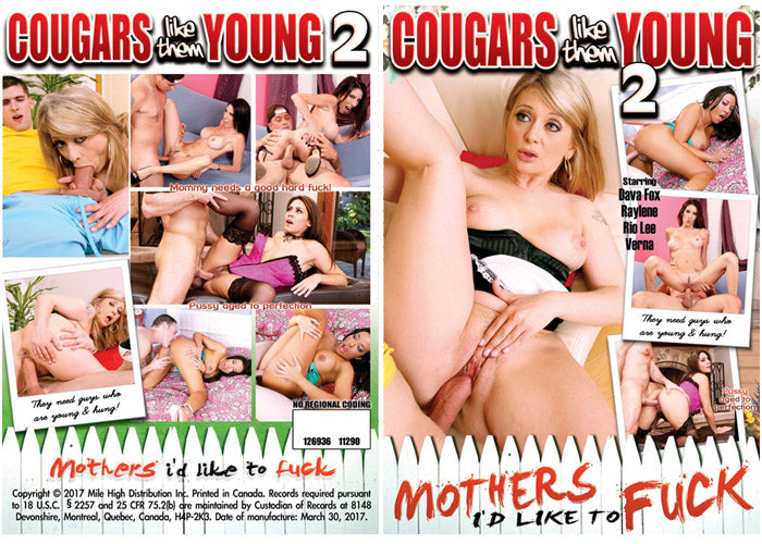 Cougars Like Them Young #2 - Mile High DVD