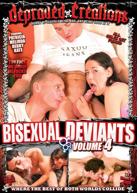 Bisexual Deviants #4  Depraved Creations DVD