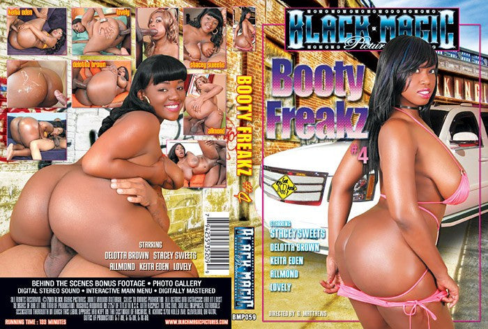 Booty Freakz #4 - Black Magic Sealed Adult DVD