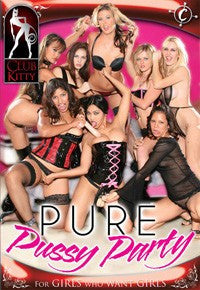 Pure Pussy Party - Lesbian - DVD