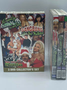 Gangbang Under The Mistletoe 3 DVD New Sealed Set
