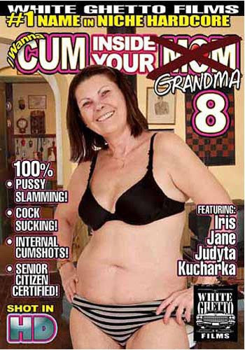 I Wanna Cum Inside Your Grandma #8 - White Ghetto Cheap Adult DVD