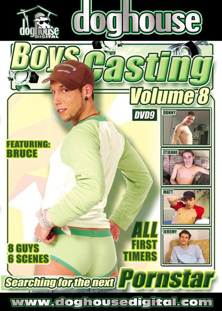 Boys Casting Couch #8 (gay) Dog House DVD