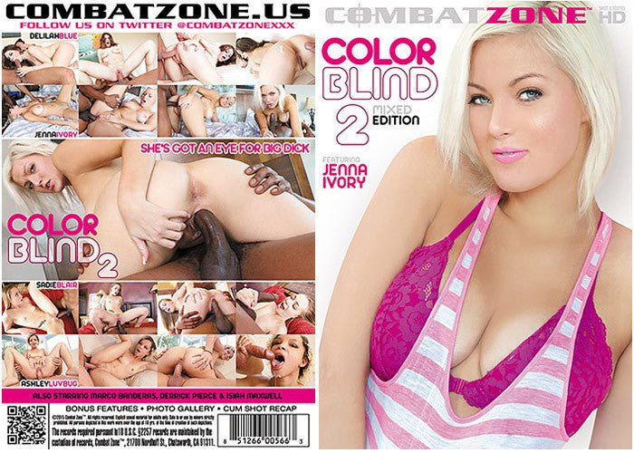 Color Blond #2 (interracial) - Combat Zone Sealed DVD