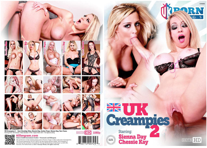 UK Creampies #2 - UK Porn Kings British Sealed DVD