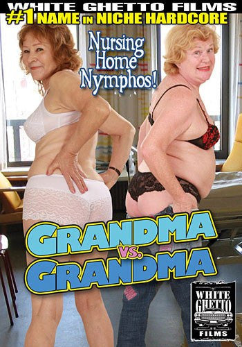 Grandma vs Grandma - White Ghetto Sealed DVD