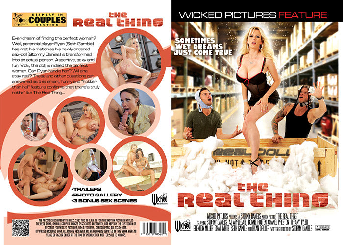 The Real Thing (stormy daniels) - Wicked Sealed DVD