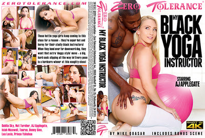 My Black Yoga Instructor #1 - Zero Tolerance Sealed 4k DVD