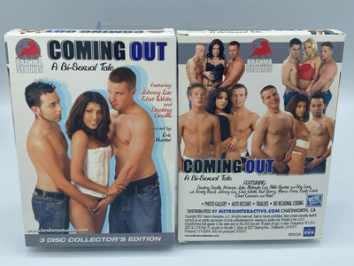 Coming Out - Bisexual 3 DVD New Sealed Set