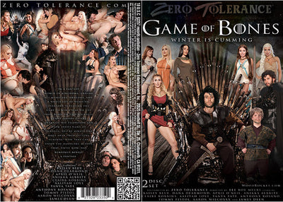 Game of Bones #1 - Zero Tolerance Sealed 2 DVD Set
