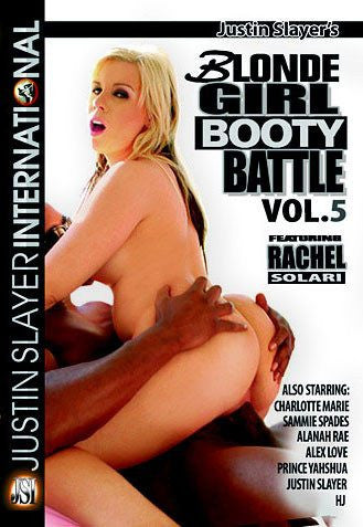 Blonde Girl Booty Battle #5 - Justin Slayer Sealed DVD