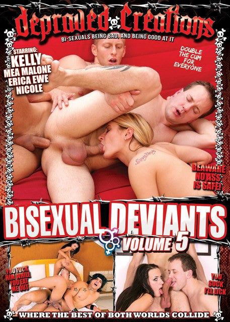 Bisexual Deviants #5  Depraved Creations DVD
