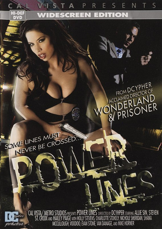Power Lines (haley paige) Cal Vista Adult Sealed DVD