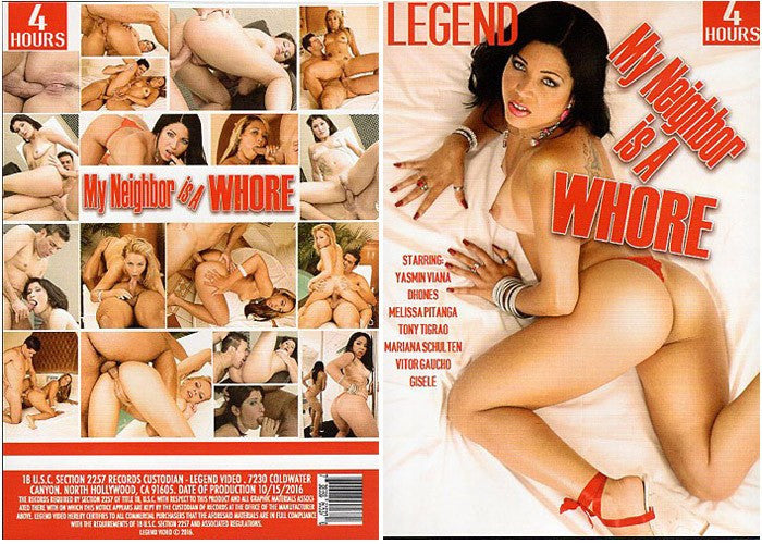 My Neighbor is a Whore - 4 Hour Legend Adult XXX 2016 DVD