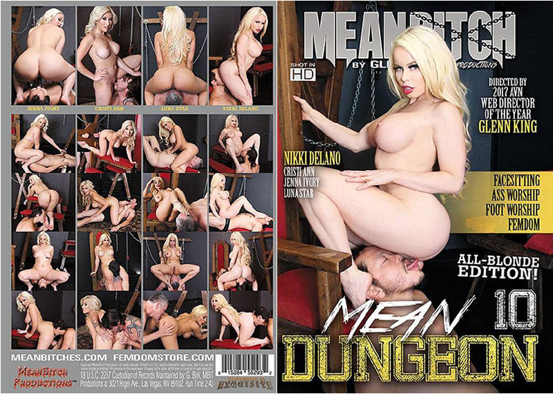 Mean Dungeon #10 - Meanbitch Sealed DVD