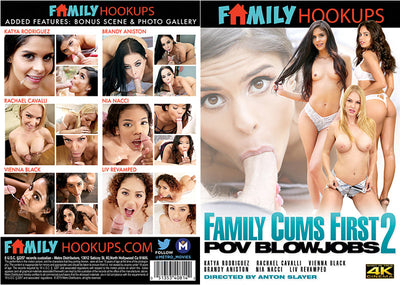 Family Cums First POV Blowjobs #2 - Family Hookups Sealed DVD
