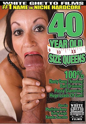 40 Year Old Size Queens #1 - White Ghetto Cheap Adult DVD