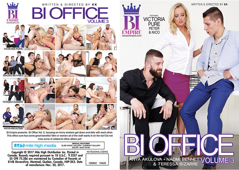 Bi Office #3 - Bi Empire Bisexual Sealed Adult DVD