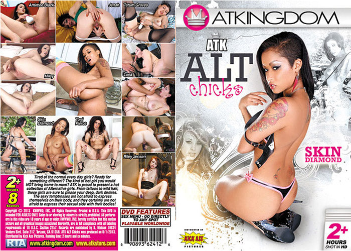 Alt Chicks - ATK Kingdom Sealed DVD