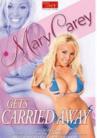 Mary Carey Gets Carried Away DVD in White Sleeve