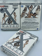 X Rated - Over 7 hours Best Fusxion Scenes - 3 Sealed DVD Box Set