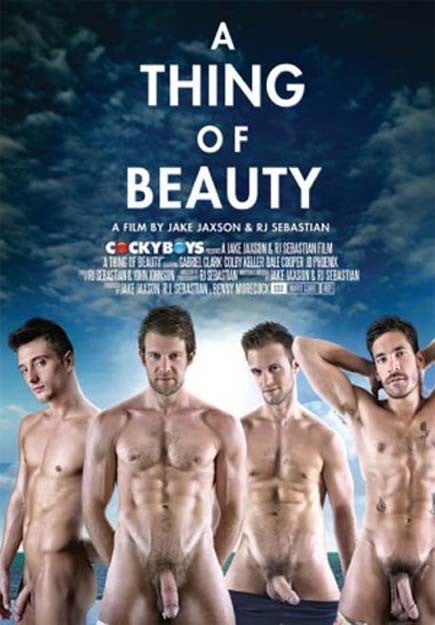 A Thing of Beauty - Cocky Boys Gay Sealed DVD