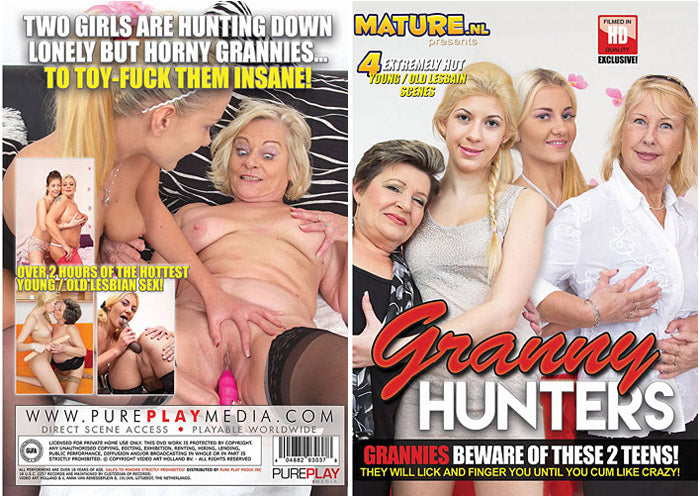 Granny Hunters #1 - Mature.nl Sealed DVD