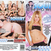 Squirt Emporium - Robert Hill Sealed 4 DVD Set