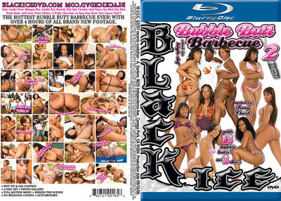 Bubble Butt Barbeque #2 - Black Ice Blu Ray Sealed DVD