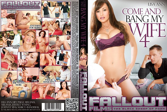 Come and Bang My Wife #4 Fallout DVD