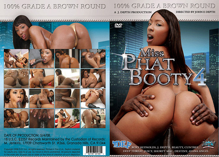 Miss Phat Booty #4 - Depth Ent Sealed DVD