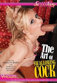 The Art of Swallowing Cock - 9 Hour DVD