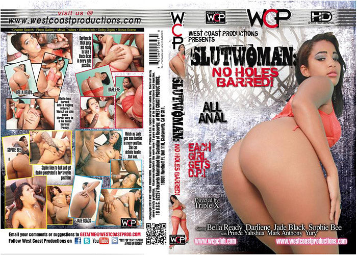 Slutwoman No Holes Barred - WCP Sealed DVD