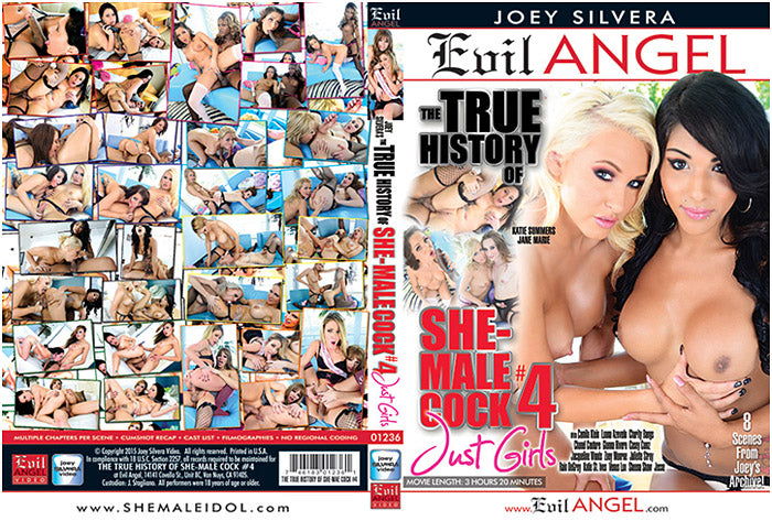 The True Story of She-Male Cock #4 - Evil Angel Shemale Sealed Transsexual DVD