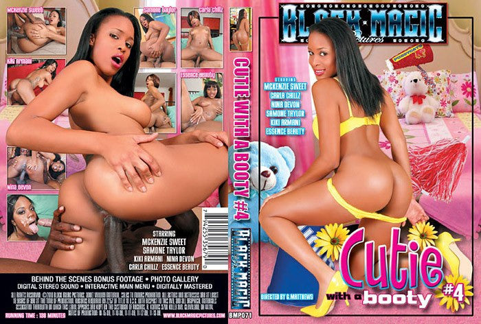 Cuties N Booties #4 - Black Magic Sealed Adult DVD