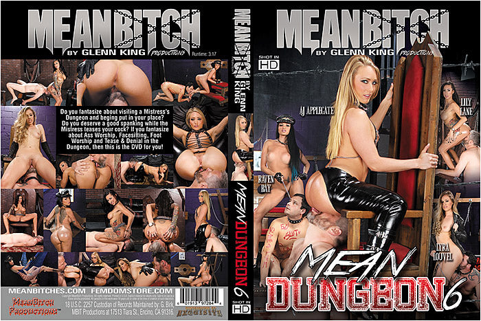 Mean Dungeon #6 - Meanbitch Sealed DVD