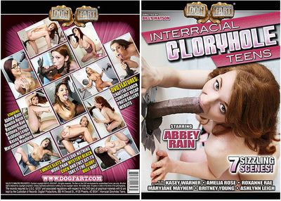 Interracial Gloryhole Teens #1 - Dog Fart Sealed DVD