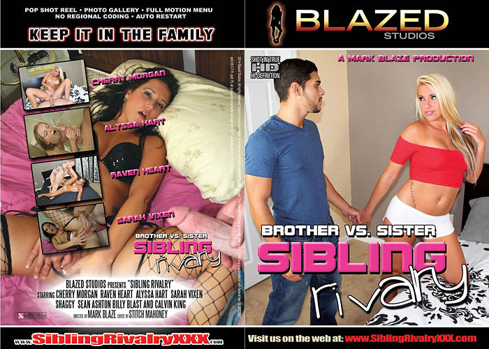 Sibling Rivalry #1  - Blazed New Sealed DVD