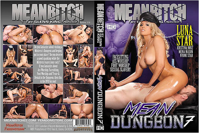 Mean Dungeon #7 - Meanbitch Sealed DVD