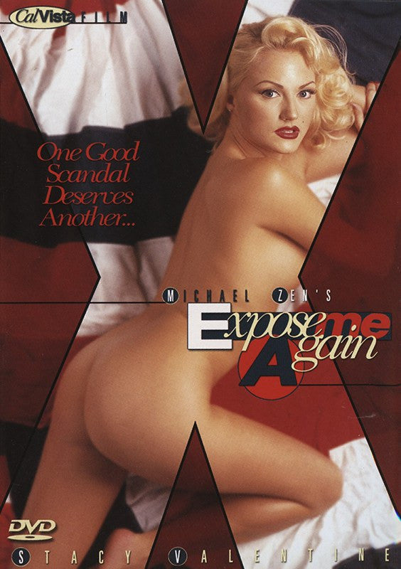 Expose Me Again Cal Vista Adult Adult XXX Sealed   DVD