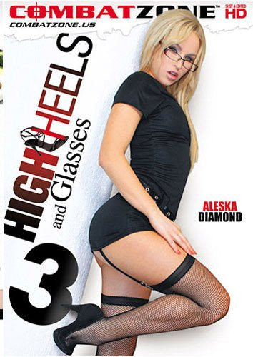 High Heels and Glasses #3 - Combat Zone DVD in Sleeve