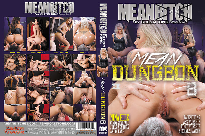 Mean Dungeon #8 - Meanbitch Sealed DVD