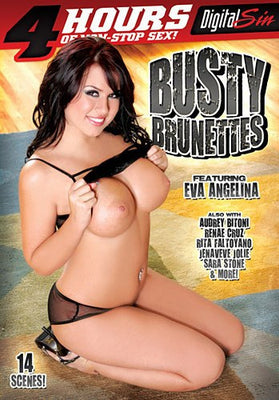 Busty Brunettes - 4 Hours Digital Sin Sealed DVD